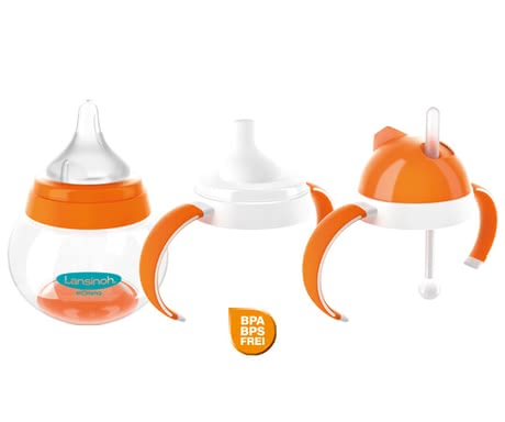 Lansinoh mOmma 3-stage drinking set -   Lansinoh mOmma 3-stage drinking set – The Lansinoh mOmma 3-stage drinking set is the perfect gift for your toddler because it grows along.