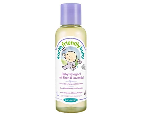 Lansinoh Earth Friendly Baby oil Shea & Lavender -  Lansinoh Earth Friendly Baby oil Shea & Lavender will foster your baby's soft skin.