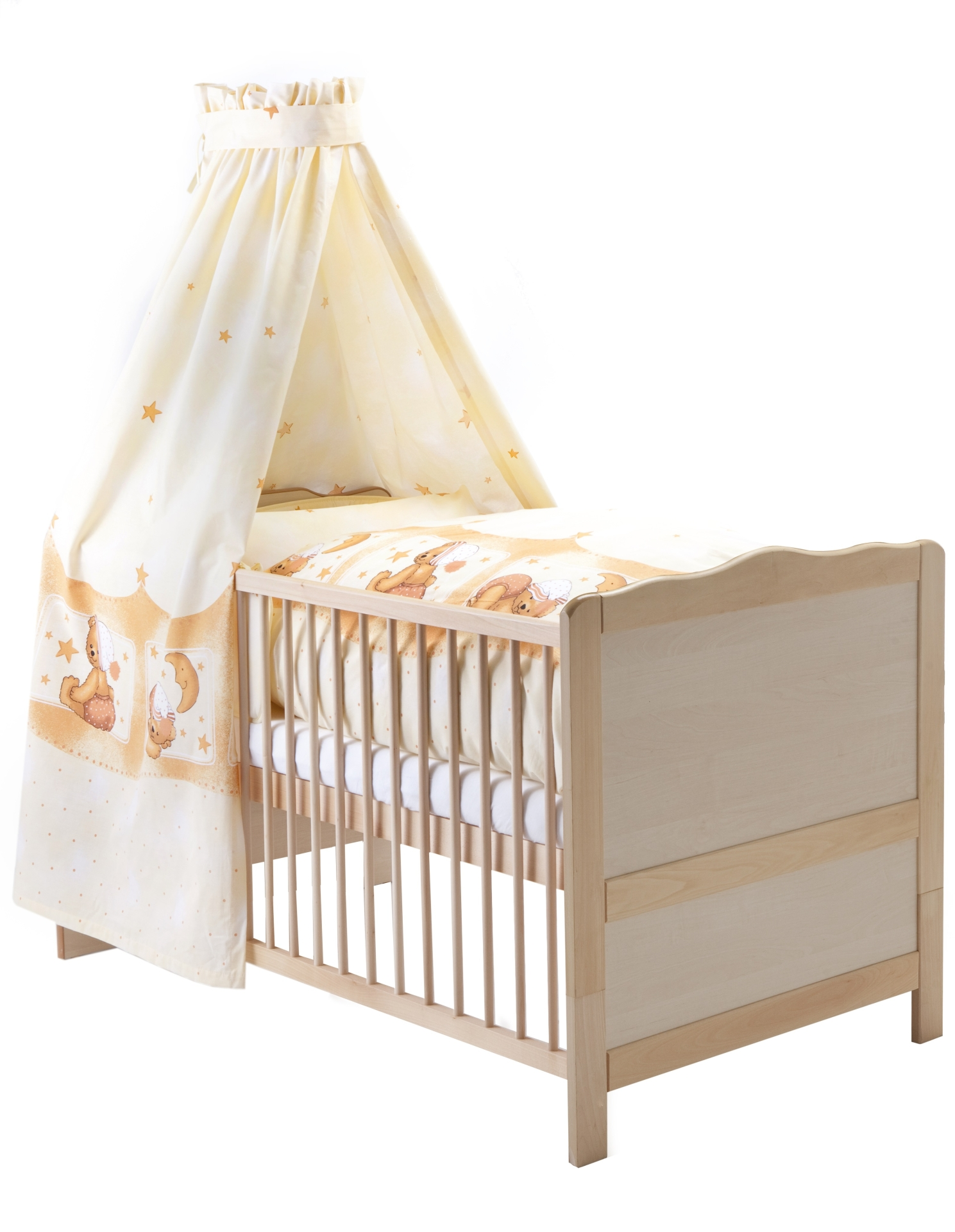 z llner komplett bett nelly kuschelb r apricot 2016 natur online kaufen bei kidsroom wohnen. Black Bedroom Furniture Sets. Home Design Ideas