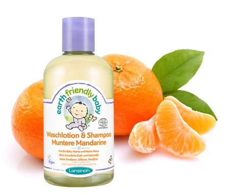 Lansinoh Earth Friendly Baby washing lotion & shampoo Muntere Mandarine 2016 - большое изображение