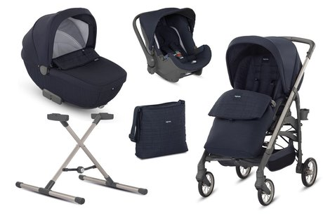 Inglesina Otutto Deluxe - The Inglesina Otutto Deluxe system is simply a must-have - it accompanied you and your honey from birth to toddler age.