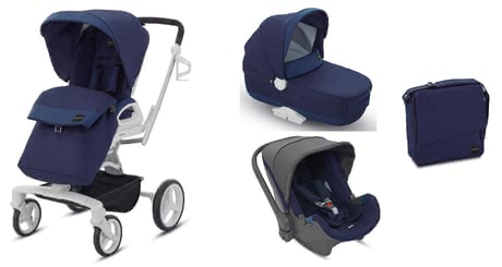 Inglesina Quad System - Thanks to the Inglesina quad system you and your little Darling are well equipped – from birth to toddler age.