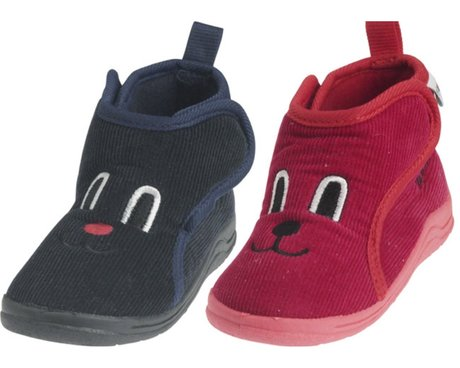 Playshoes cord slippers rot 2016 - large image