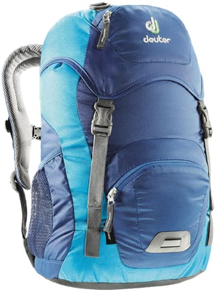 Deuter Kinderrucksack Junior in steel-turquoise 2016 - 大图像