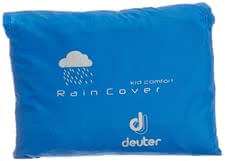 Deuter Kid Comfort Deluxe Rain Cover coolblue -  Your little one is being protected against any weather with the Kid Comfort Deluxe Rain Cover by Deuter.
