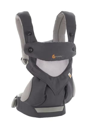 Ergobaby baby carrier 360° Carrier Cool Air - Ergobaby baby carrier 360° Carrier Black Camel - The Ergobaby baby carrier 360° Carrier offers your child an all around view thanks to four different carrying positions.