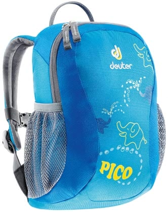 Deuter children's backpack Pico turquoise check 2016 - Image de grande taille