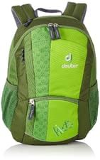Deuter Kids children's backpack kiwi -  The Deuter Kids children's backpack with happy pattern is definitely a great accessory for little adventurers.