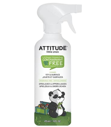 Attitude little ones Spielzeug- & Oberflächenreiniger - Is ideal for the toy or the surfaces of attitude toys & surface cleaner - it removes dirt and harmful residues, which can be taken by your little treasure.