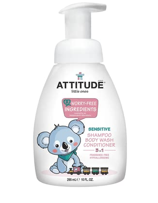 Attitude little ones 3-in-1 Shampoo 2017 - Image de grande taille