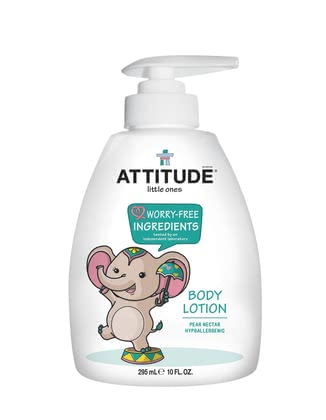 Attitude little ones Body Lotion  - The attitude of little ones body lotion protects the sensitive and delicate skin of your treasure.