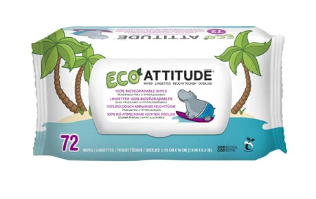 Attitude little ones Feuchttücher - The attitude wipes are a must in every household of the baby. Whether for quick cleaning in between or for at home.