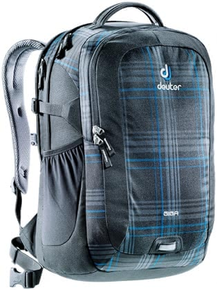 Deuter school-laptop-bag Giga in blueline check 2016 - large image