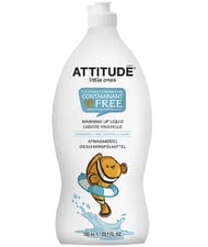 Attitude little ones Spülmittel - You can clean the bottles, cutlery or plates of course and thoroughly detergent ones thanks to the attitude of little.