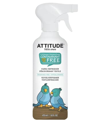 Attitude little ones Textilerfrischer - Thanks to the attitude of Textilerfrischer eliminates odors naturally.