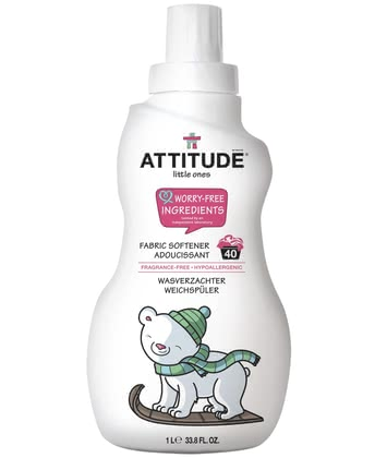 Attitude little ones Weichspüler - Fabric softener ones with the attitude of little is pleasantly soft to the clothing of your treasure and help you reduce the static charge.