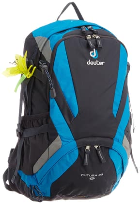 Deuter women's hiking backpack Futura 20 SL in graphite-turquoise 2016 - Image de grande taille