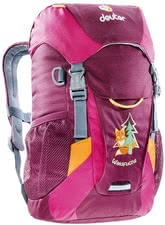 Deuter children's backpack fox in blackberry-magent -  The children's backpack fox in blackberry-magenta by Deuter will provide enough storage space for all your adventurer's important utensils.