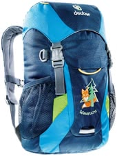 Deuter children's backpack fox in midnight-turquoise -  The children's backpack fox in midnight-turquoise by Deuter will provide enough storage space for all your adventurer's important utensils.