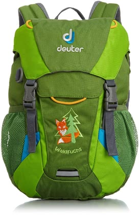 Deuter children's backpack fox in emerald-kiwi 2016 - Image de grande taille