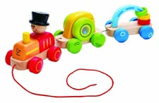 Hape train - The train by Hape can be discovered by your child aged 2 years old.