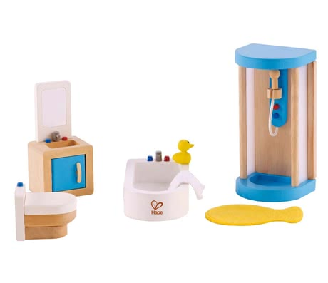 Hape family bathroom - The family bathroom by Hape has a lot of bathing fun to offer.