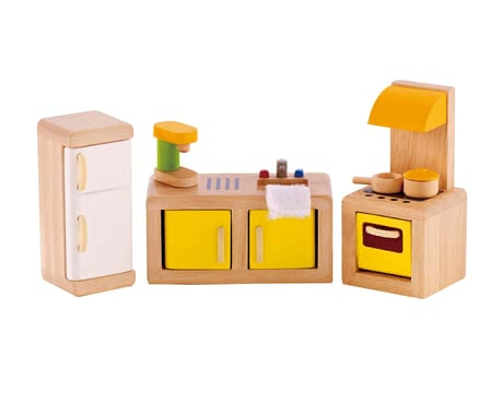Hape kitchen - Little doll mamas will be stoked by the Hape kitchen.
