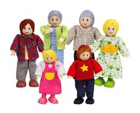 Hape doll family - What would the wonderful doll house be without the great doll families by Hape.