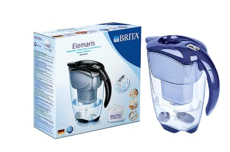 BRITA Wasserfilter Premium-Modell Elemaris Cool - Full flavor in tea or coffee - is with the BRITA water filter premium model of Elemaris cool because the water filter is filtering your tap water and abu...
