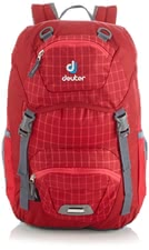 Deuter children's backpack Junior raspberry check -  Every parent makes the right choice with the Junior children's backpack in raspberry check by Deuter which is a super functional and stylish backpack.