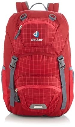 Deuter Kinderrucksack Junior in raspberry check 2016 - Großbild