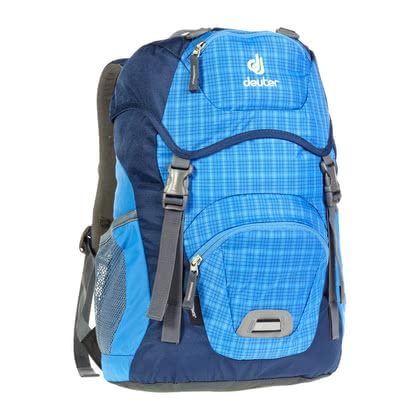 Deuter children's backpack Junior in coolblue check 2016 - large image