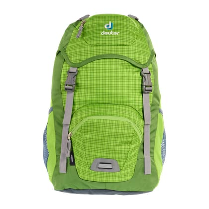 Deuter children's backpack Junior in kiwi check 2016 - Image de grande taille