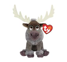 Disney Frozen plush toy Sven with sound - The Frozen plush toy Sven with sound will enchant little fans of Disney with glitter and great sounds.