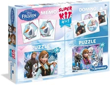– Disney Frozen 4 in 1 box - The Disney Frozen 4 in 1 box is a play box with a lot to offer for small and big Frozen fans.