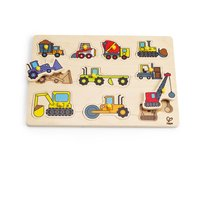 Hape peg puzzle - The peg puzzle by Hape will delight your little one with different designs.