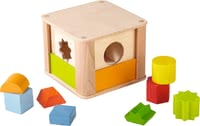 Haba sorting box zoo animals - The sorting box with zoo animals will provide a lot of fun.
