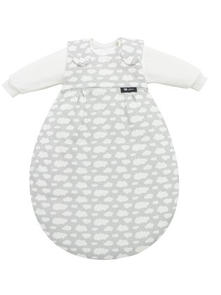 Alvi Baby- Mäxchen® silver cloud - The Alvi Baby- Mäxchen® convinces with its 3-part sleeping combination.