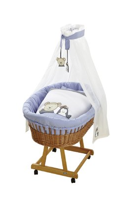 Alvi complete set bassinet Birthe, Design Car Driver - This complete set fort he bassinet will create a comfortable place to sleep for your little one.