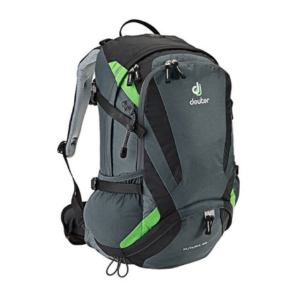 Deuter Wanderrucksack Futura 28 in 2 Farbvarianten granite-black 2016 - 大图像