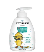 Attitude little ones Schaumbad mit Dosierpumpe - The attitude of little ones bubble bath with dosing pump was developed with the entitlement of uncompromising security and production of risk-free ingred...