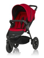 Britax B-MOTION 3-wheel - The Britax B-MOTION 3 is a versatile and comfortable pushchair and in all 2 designs available at kidsroom.de