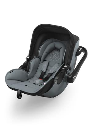 kiddy evo-luna i-Size inkl. kiddy isofix base 2 - Die kiddy evo-luna i-Size inkl. kiddy isofix base 2 mit Liegefunktion ermöglicht Ihrem Nachwuchs einen gesunden Start ins Leben.