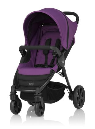Britax B-AGILE 4-wheel - The Britax -AGILE 4 is a versatile and comfortable pushchair and in all 4 designs available at kidsroom.de