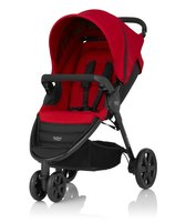 Britax B-AGILE 3-wheel - The Britax -AGILE 3 is a versatile and comfortable pushchair and in all 2 designs available at kidsroom.de