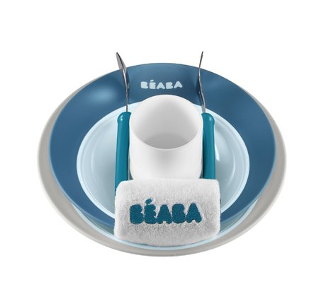 "Béaba ""Ellipse"" set learning how to eat Blau 2016 - Image de grande taille"