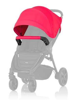 "Britax B-AGILE PLUS and Britax B-MOTION PLUS Canopy Pack - B-agile your Britax with the colourful ""canopy Pack"" you make plus or Britax B-motion plus complete. The ""canopy""Pack colorful accents."