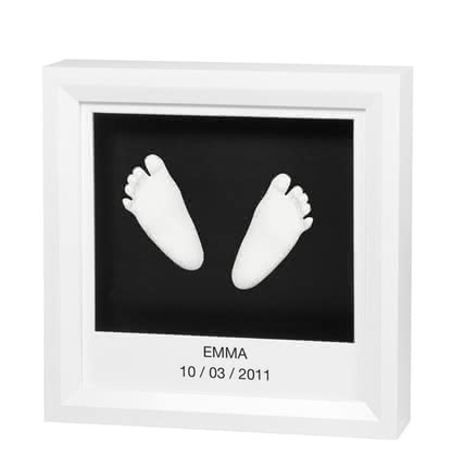 "Baby Art ""my little steps"" 3D hand and foot print - Baby Art ""my little steps"" 3D hand and foot print – The ""my little steps"" creates a unique memory of the time with your little one"