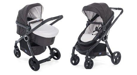 "Chicco Komplettset Urban Plus Crossover + Chicco""Color Pack"" Sandshell 2018 - Großbild"