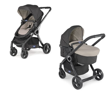 "Chicco Komplettset Urban Plus Crossover + Chicco""Color Pack"" Dune 2016 - Großbild"